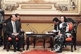 Hô Chi Minh-Ville et Chongqing renforcent leur coopération