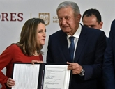 Le nouvel accord de libre échange nord-américain signé à Mexico