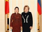 Vietnam - Russie : entretien Nguyên Thi Kim Ngân - Valentina Matvienko