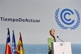 COP25 : de jeunes militants expulsés après avoir réclamé plus d'actions pour le climat