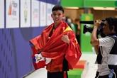 SEA Games 30 : le joli coup double de Nguyên Huy Hoàng