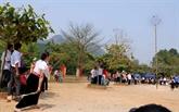 Bientôt le 6efestival de jeu de lancer de balles d'étoffe Vietnam - Laos - Chine
