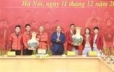 Le PM salue les exploits des équipes de football masculin et féminin aux SEA Games 30