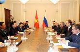 La Commission interparlementaire Vietnam - Russie explore de nouveaux horizons