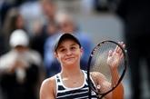 Tennis : la numéro 1 Ashleigh Barty élue joueuse de l'année WTA