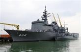 Deux navires de la Force maritime d'autodéfense japonaise en visite à Dà Nang