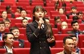 Les jeunes vietnamiens doivent avoir l'aspiration à édifier un pays puissant