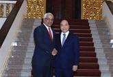 Le Premier ministre vietnamien rencontre le ministre cubain de la Justice