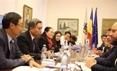 Une délégation de haut niveau du Conseil populaire de Hô Chi Minh-Ville en Roumanie
