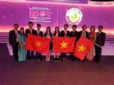 Trois médailles dor aux Olympiades internationales junior des sciences