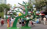 Une rue des livres animée pour le Têt 2020
