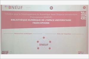 Lancement officiel de la Bibliothèque numérique mondiale BNEUF