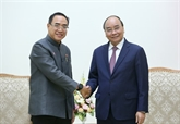 Le Premier ministre Nguyên Xuân Phuc reçoit l'ambassadeur de Thaïlande