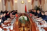 Entrevue entre la présidente de lAN du Vietnam et le Premier ministre biélorusse