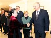 Nguyên Thi Kim Ngân rencontre des dirigeants du PC biélorusse