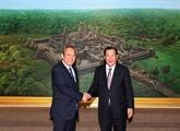 Le vice-PM Truong Hoà Binh rencontre des dirigeants cambodgiens