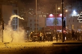 Liban : heurts entre la police et des manifestants antipouvoir à Beyrouth