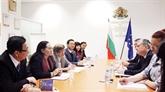 Une délégation du Conseil populaire de Hô Chi Minh-Ville en Bulgarie