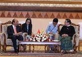 Nguyên Xuân Phuc rencontre T.Khun Myat