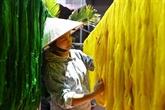 Valorisation du tissage de la soie