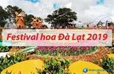 Festival des fleurs à Dà Lat