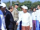 Le Vietnam et le Myanmar continuent à porter leurs liens à une nouvelle hauteur