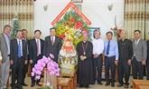 Des dirigeants du pays présentent leurs vœux de Noël aux catholiques