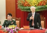 Le chef du PCV exhorte l'armée à montrer la voie en empêchant