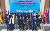 Ouverture de la conférence des jeunes scientifiques de l'ASEAN 2019