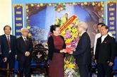 Nguyên Thi Kim Ngân salue les contributions du Comité de solidarité des catholiques