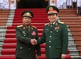 Le ministre laotien de la Défense en visite de travail au Vietnam
