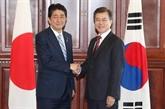 Moon Jae-in et Shinzo Abe tiendront un sommet bilatéral le 24 décembre en Chine