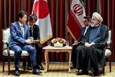 Le président iranien rencontre le Premier ministre japonais Abe