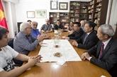 Une délégation du PCV travaille en Uruguay et en Argentine