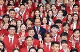 Le PM salue les efforts de la délégation sportive du Vietnam