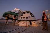 La capsule Starliner de Boeing de retour aux États-Unis sur un semi-échec