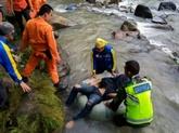 Indonésie : un bus chute dans un immense ravin, au moins 24 morts