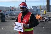 Retraites : un Noël aux couleurs de la grève en France