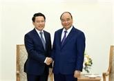 Le Premier ministre vietnamien reçoit le ministre laotien des Affaires étrangères
