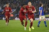 Angleterre : Liverpool impitoyable, Chelsea talonné par ses poursuivants