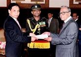 Le président du Bangladesh souhaite coopérer avec le Vietnam dans de nombreux domaines