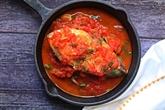 Maquereau à la sauce tomate