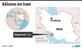 Iran : séisme de magnitude 5,1 près d'une centrale nucléaire