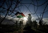 Gaza : dernier rassemblement à la frontière avec Israël avant trois mois