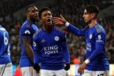 Angleterre : Leicester consolide, Tottenham se loupe, dépassé par United
