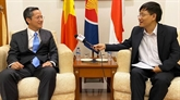 Les relations de coopération Vietnam - Indonésie se consolident