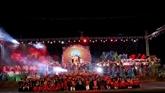 Festival de jeu du lancer de balles d'etoffe Vietnam - Laos - Chine à Lai Châu