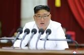 Kim Jong Un reconnaît que son pays traverse