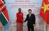 Approuver des mesures spécifiques pour renforcer les liens Vietnam - Kenya