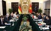 Réunion du Groupe de direction stratégique Vietnam - Allemagne à Hanoï